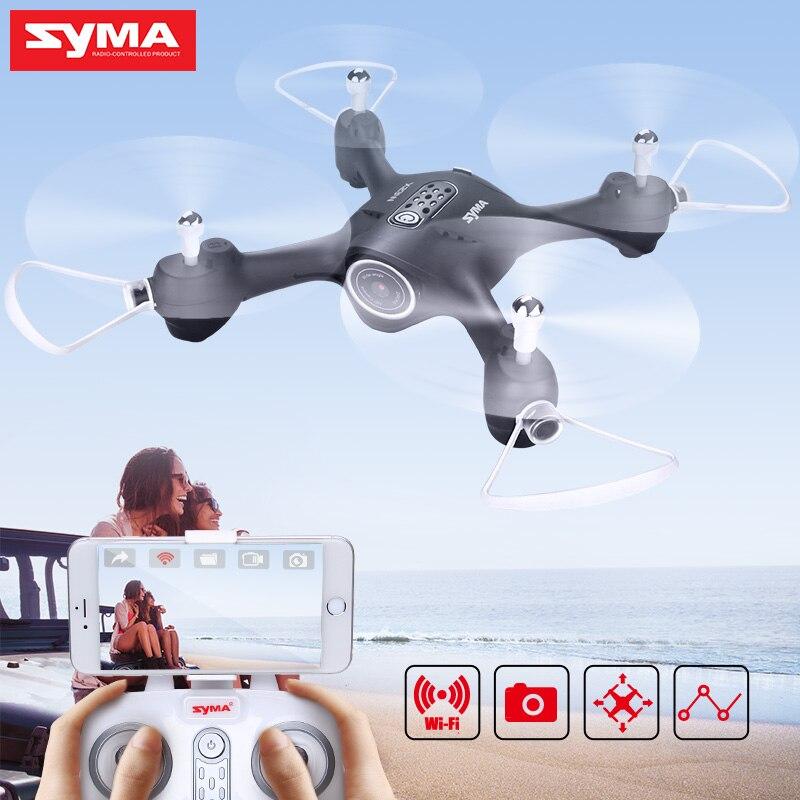 SYMA X23W Wifi FPV RC Quadrocopter With 720P HD Camera APP Control Professional RC Drone 360
