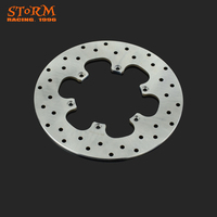 240MM Motorcycle Rear Brake Discs Rotor For BMW F650 F650CS F 650CS Scarver F650GS F650 GS Dakar F650ST F650 ST