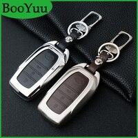BooYuu Zinc alloy car key Case keychain For Toyota RAV4 Crown Prado Highlander Camry Corolla 86 LAND CRUISER 200 2button 3button
