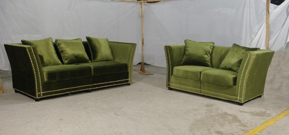 Manbas Lvory Хохлатая Ткань диван поставляется с хохолком Ткань с высушенные оборудования для 7 дюймовый ноги, элегантные и удобные