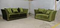 MANBAS Lvory Tufted Fabric Sofa Comes With Tufted Fabric With Kiln Dried Hardware For The 7