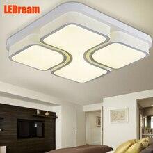 Современные СВЕТОДИОДНЫЕ потолочные светильники и фонари гостиной свет сладкий спальня свет столовая атмосфера оригинальность