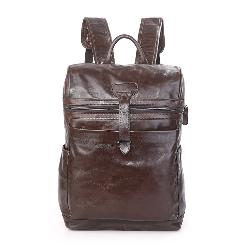 JMD Vintage Women Backpack for Teenage Girls School Bags Fashion Large Backpacks High Quality Genuine Leather Travel Laptop Bag