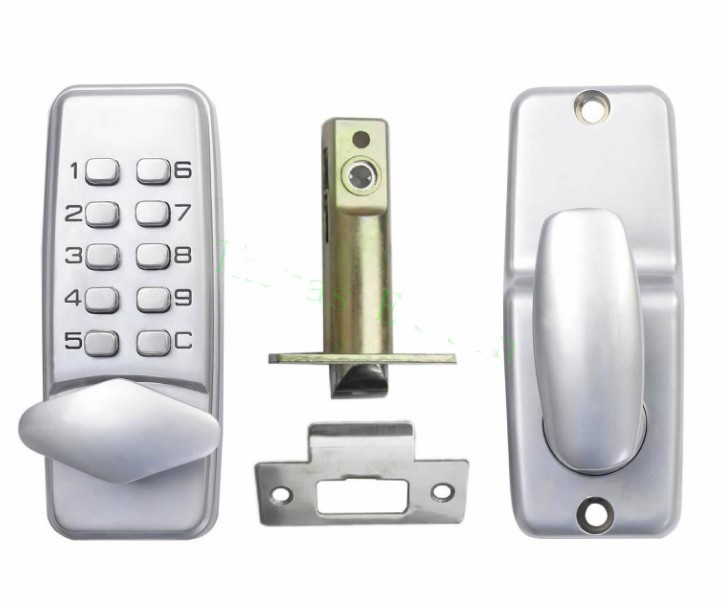 5pcs First generation zinc alloy material mechanical cipher door lock digital key cipher door lock