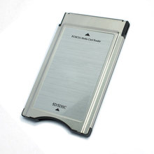 Dropshipping PCMCIA To SD Card SDHC CARD Adapter For Mercedes-Benz S Class GLK/SLK/CLS/E/C E260 E300 Reader Freeshipping