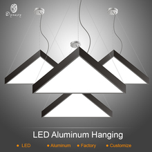 Modern Triangle Ceiling Lights Aluminum LED DIY Combo Pattern Hanging Free Style Decoration Office Studio Lamp