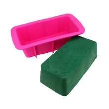 Silicone Soap Mold Rectangle Loaf Bar Molds Handmade Soaps Making Mould Bread Toast Cake Baking Tool