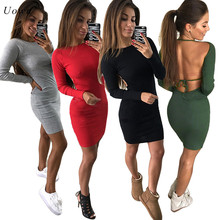 Buy sexy slim bodycon mini t shirt women long sleeved and get free shipping  on AliExpress.com 3e982c217