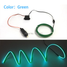 High quality DC 12V Inverter 10 Color Select LED Strip Neon Light 1 2 3 4