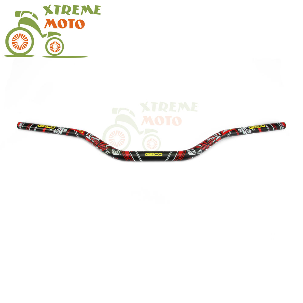 1 1/8 28mm Black Handlebar Fat Bar Handle Tubes For CR YZ RM KX KTM CRF YZF WRF KXF KLX RMZ RMX Dirt Bike Motocross Motorcycle