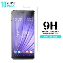 10 Pcs Tempered Glass For HTC U19e Screen Protector 2.5D 9H Premium Protective Film