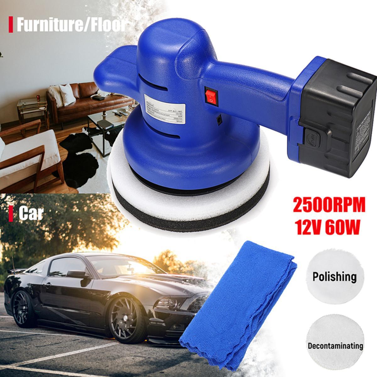 Portatile Cordless Lucidatrice Auto Cleaner Polish Macchina Ceretta Macchina Con 12 V Batteria Al Litio Per I Camion Auto