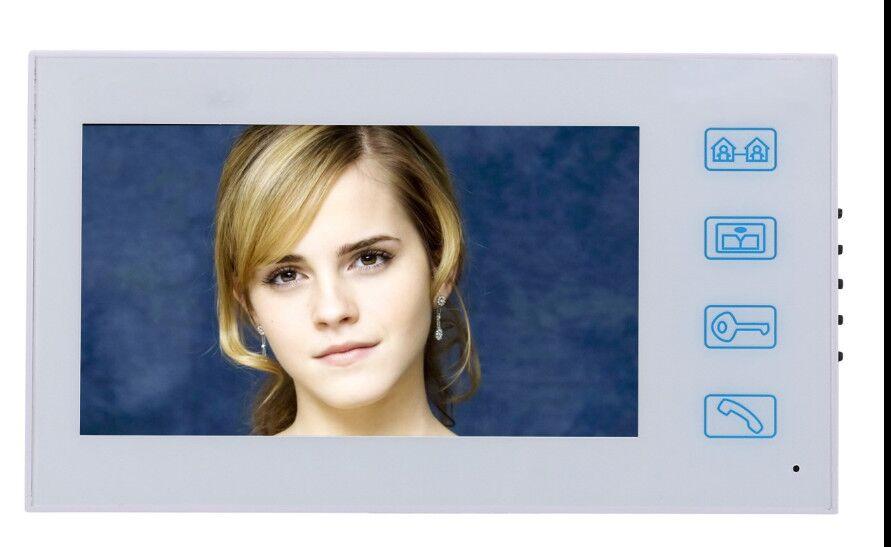 SmartYIBA WIFI APP Fingerprint Doorphone ID cards Password Unlock Max Support 64GB TF Card Doorbell 1000TVL Video Intercom