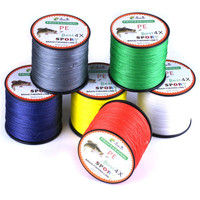 Snowshine 4501 Fish Wires 500M PE Braided Fishing Line Super Strong Multifilament Fishing Line