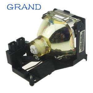 Image 3 - Venda da fábrica brandnew POA LMP86 substituição lâmpada do projetor nua com habitação para sanyo PLV Z1X/PLV Z3 bate feliz
