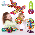 3D DIY Building Blocks Baby Toys Combination Magnetic Blocks Set  Inspire Kit Learning Educational Creative Tots Toy
