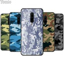 Soft Cover Shell for Oneplus 7 7 Pro 6 6T 5T Silicone Phone Case for Oneplus 7 7Pro Black Case Camouflage Camo military Army