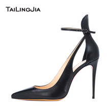 Pointed Toe High Heel Women Shoes Woman Pumps Ladies Party Dress Shoes Soft High Quality Soft Pu Leather Handmade Female Shoes morazora high quality woman shoes 2017 summer med heels 4 5cm women pu soft leather pumps party fashion shoes size 34 45