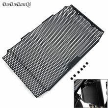 цена Original For Honda cb1000r CB 1000R 2018 2019 Black CNC Radiator Grille Guard Cover Protector Motorcycle Accessories
