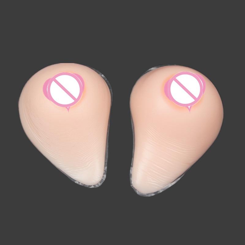 Topleeve 5000g/pair Medical Grade Silicone Breast Forms Fake Boobs Enhancer for Crossdresser Transvestite user DC cosplay