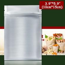 "200pcs/lots 3.9""*5.9"" (10cm*15cm)*200mic High Quality Aluminum Bag Food Packing Bag Foil Bag Wholesaler"