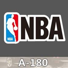 A-180 NBA Team Wasserdicht Mode Kühle DIY Aufkleber Für Laptop Gepäck Skateboard Kühlschrank Auto Graffiti Cartoon Aufkleber