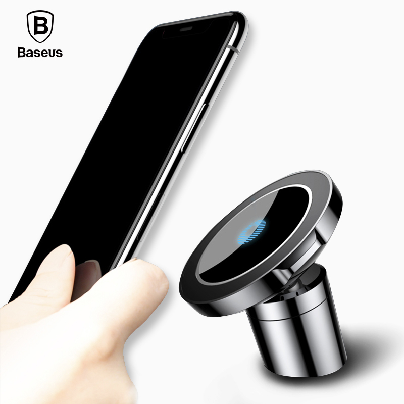 Baseus QI Wireless Charger Magnetic Car holder For iPhone X 8 Samsung S9 S8 Mobile Phone Car Mount Wireless Charging Charger