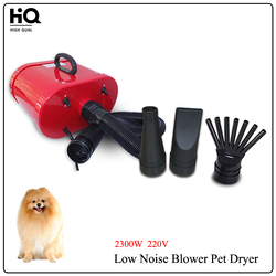 2300W 220V Dual Engine Pet Dog Hair Dryer s22-2300 Low Noise Pet Gooming Dryer For Laundry PC Shell Material CE Certification