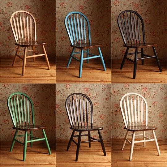 amerikaanse land eiken houten eetkamer meubels te koop windsor stoel ...