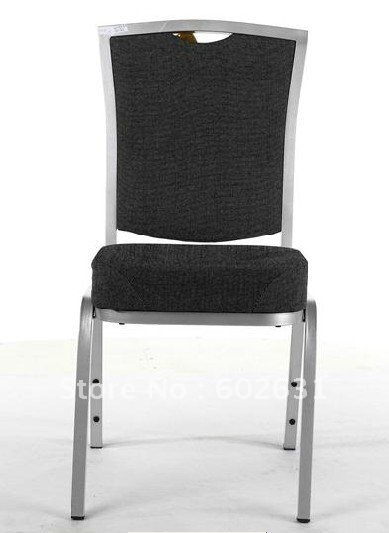 Hot Sale Aluminum Banquet Chair LUYISI308B,stackable,Mould Seat,heavy Duty Fabric,5pcs/carton,safe Package