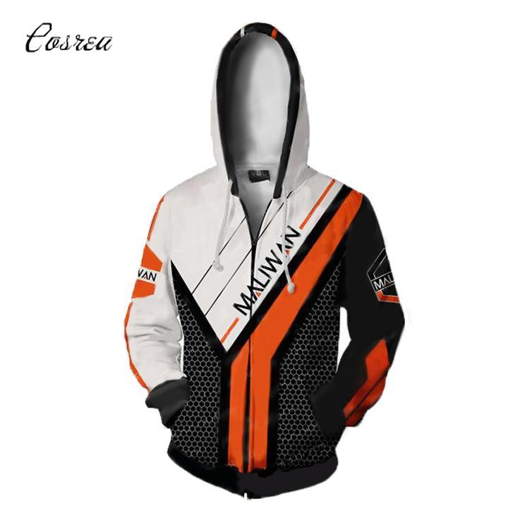 Game Borderlands Hoodie for Girls Sweatshirt Long Sleeve Top Coat Cosplay Costumes One Piece Halloween Plus Size Jacket