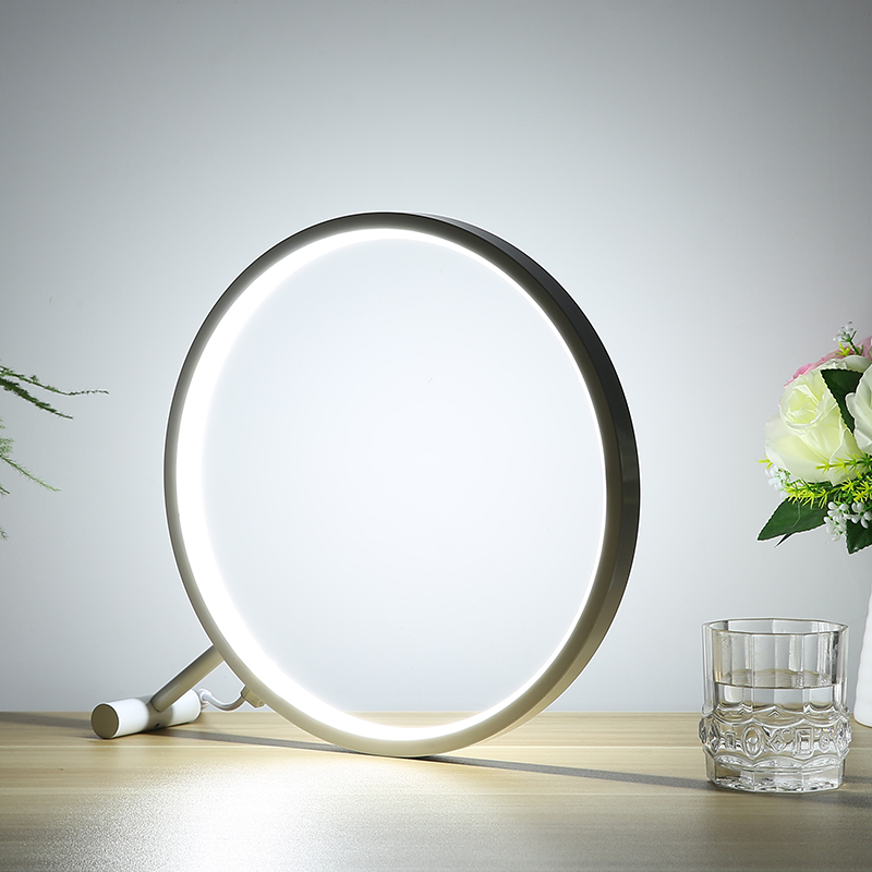 Simple LED desktop desk lamp magnifying glass lamp bedroom study writing desk light bedside Eye protection reading lamp FG510 xiaomi smart desk lamp second generation led eye protection college students bedroom study desk bedside lamp