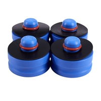 4 Pçs/set Azul Jack Adaptador Pad Elevador Pad para Tesla Model S
