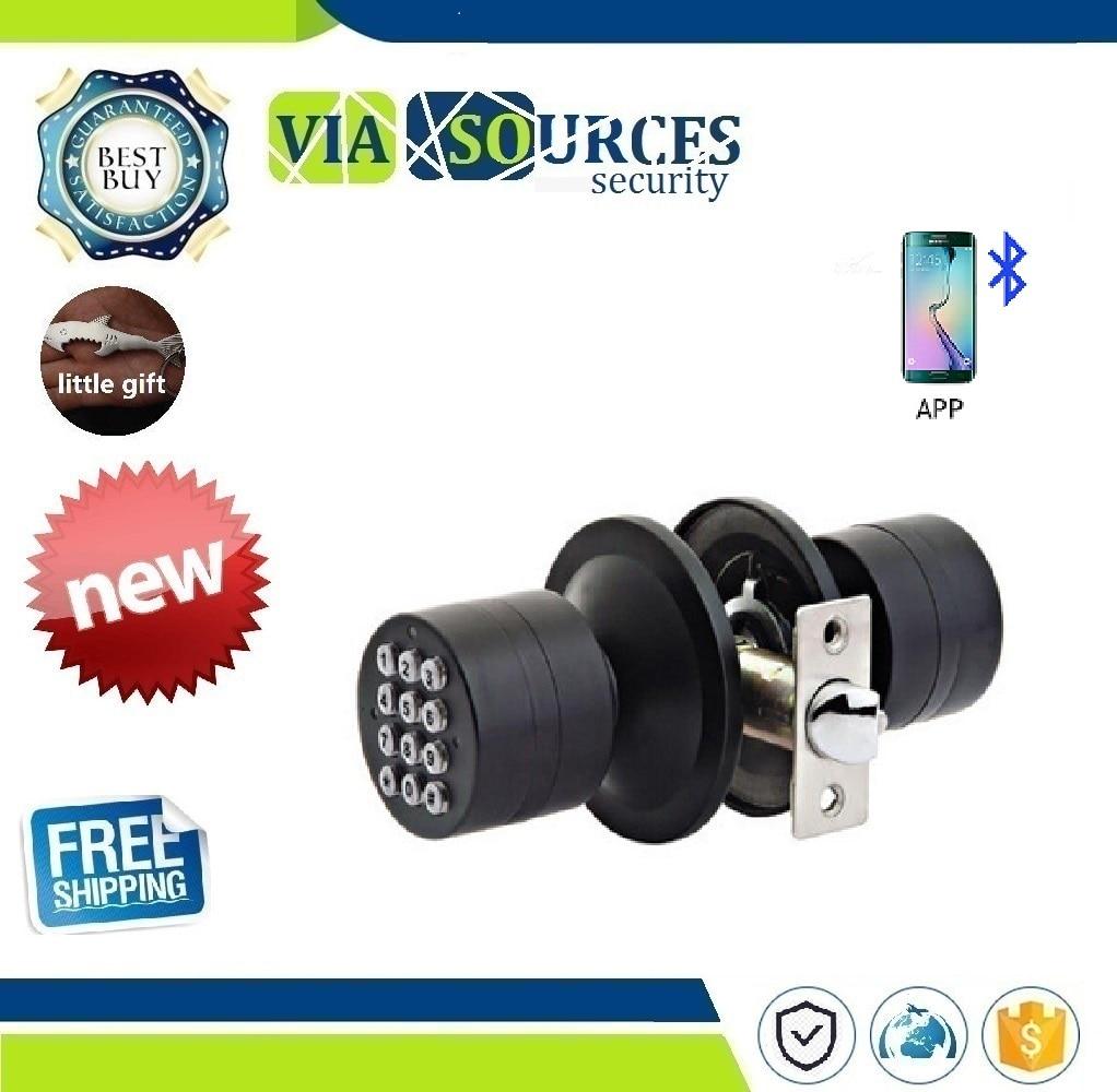 Mot de passe Bluetooth serrure intelligente sans fil télécommande téléphone APP sécurité à domicile Mini métal BT serrure de porte électronique