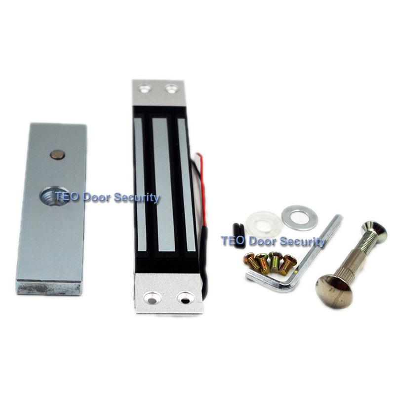 Embedded electromagnética Lock 350bls 180 kg dc12v cubierto ...