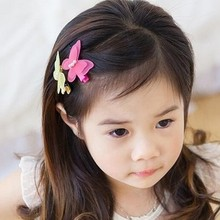 Baby Cute Style Children Accessories Hairpins Butterfly Kids Girls Barrette Lovely Hair Clip