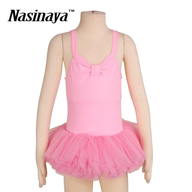 f9149a7b4 Collant de Ginástica rítmica RG Traje Ballet Desempenho Tutu das Crianças  Meninas Saias de Dança Camisola