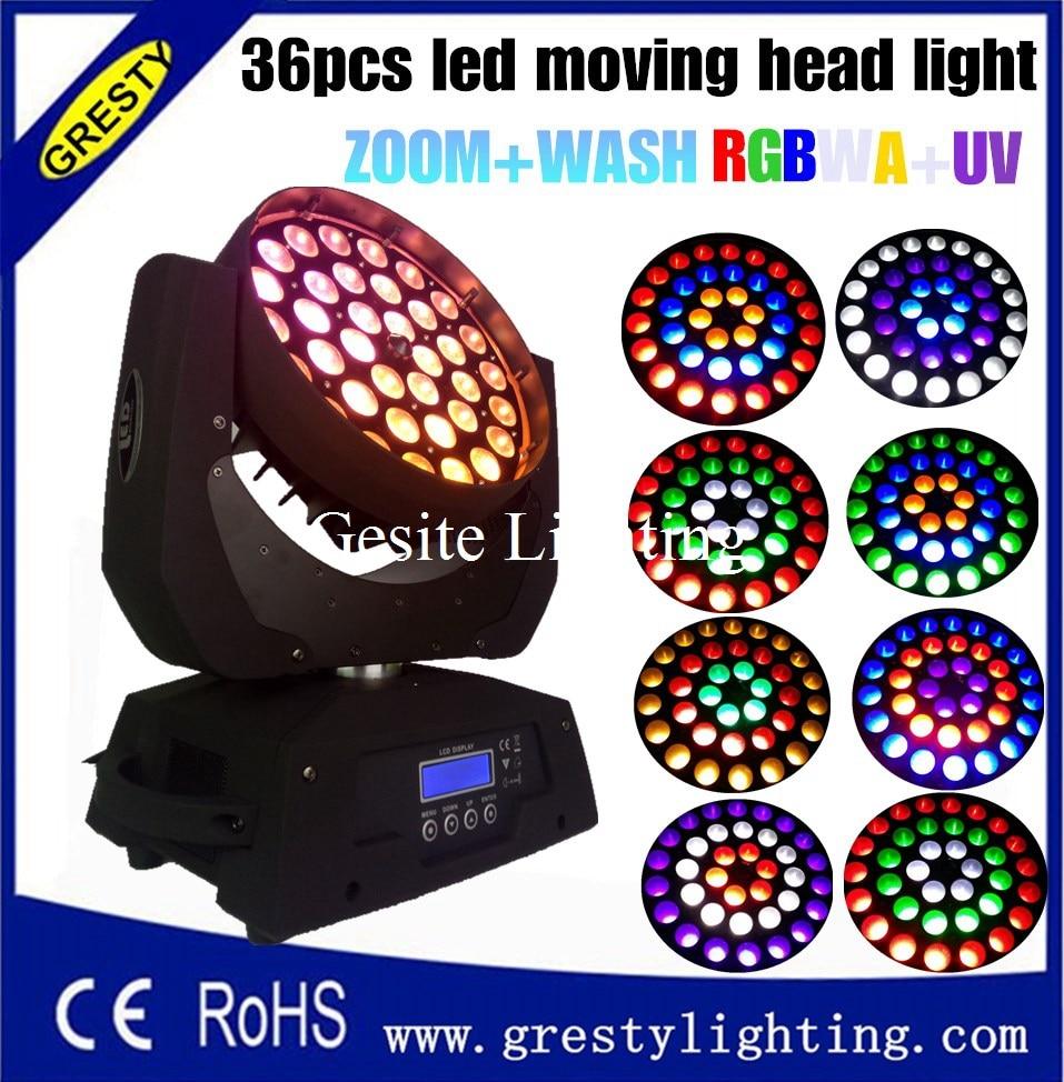 2 հատ / լամպ DMX 512 36 * 18W RGBWAUV 6 IN1 LED - Կոմերցիոն լուսավորություն - Լուսանկար 6