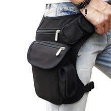 Men Canvas Drop Leg Bag Waist Fanny Pack Thigh Belt Hip Bum Military Travel Multi-purpose Messenger Shoulder Bags