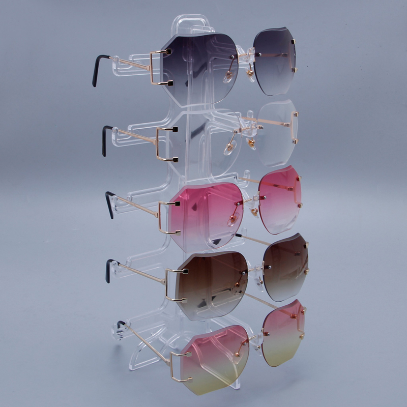 5 Layers Glasses Eyeglasses Sunglasses Show Stand Holder Frame Display Rack Hanger Holder