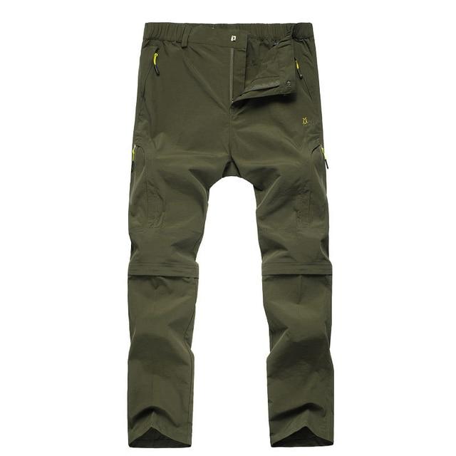 Men Pants 2016 Summer Men's Quick-drying Waterproof Pants male Breathable Trousers Men Removable Pants