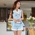 Original 2016 Brand Clothes Short Plus Size Slim Fashion Casual Plaid Shorts Women Summer Wholesale