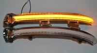 Crystal Dynamic Blinker LED Turn Signal for Volkswagen VW Golf MK7 GTI 7 MK 7.5 Rline GTD Bright Mirror Light clear version