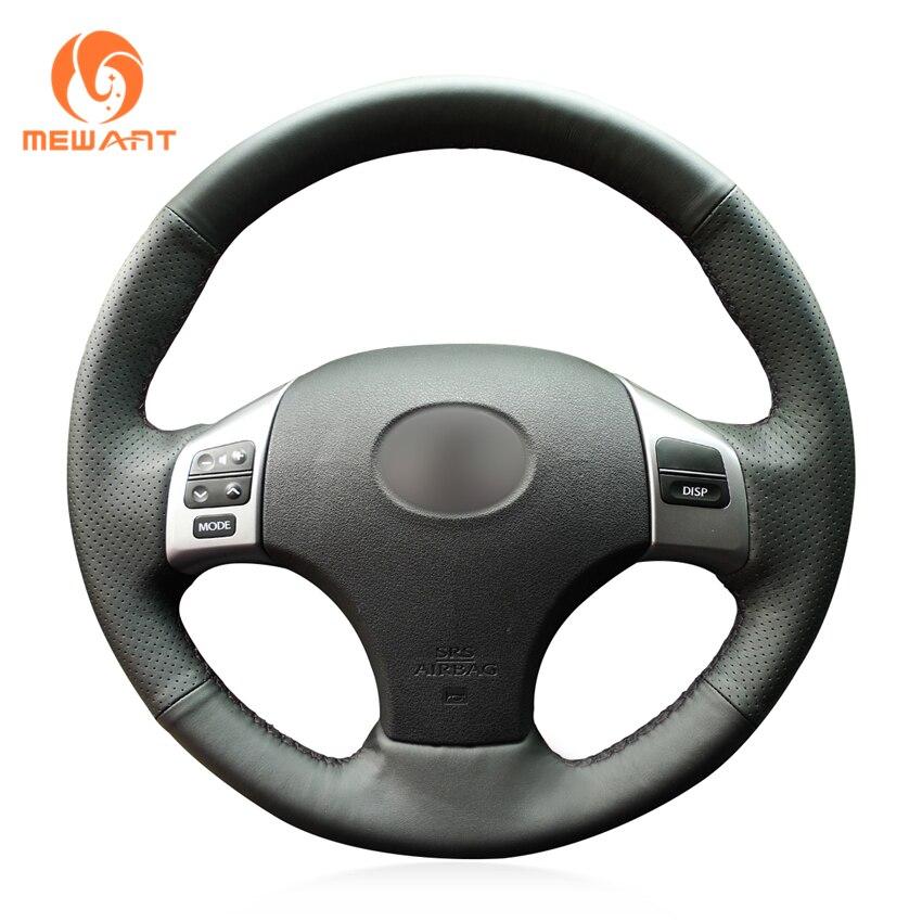 MEWANT черный из натуральной кожи рулевого колеса автомобиля крышки для Lexus IS IS250 IS250C IS300 IS300C IS350 IS350C F SPORT 2005 -2011