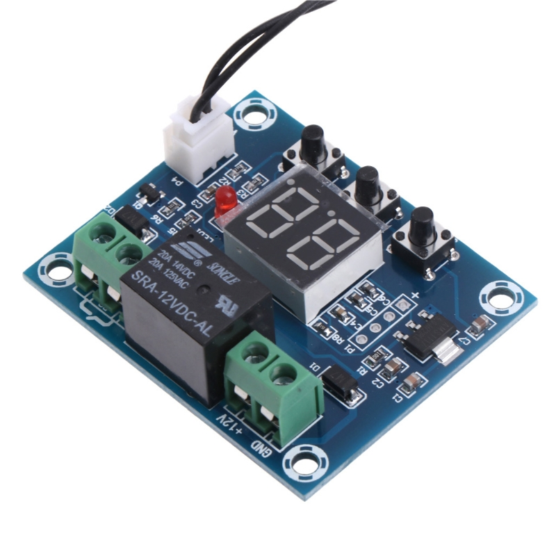 12V Soil Humidity Sensor Controller Irrigation System Automatic Watering Module Digital Humidity Controller G25 April 4 5pcs rain sensor water raindrops detection module automatic watering rain weather module humidity for arduino raspberry pi