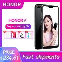 HUAWEI Honor 9i 9N 4GB RAM 64GB/128GB 5.84 inch Android 8.0 Octa Core Mobile Phone Kirin 659 2280x1080 FHD+ Fingerprint 16.0MP