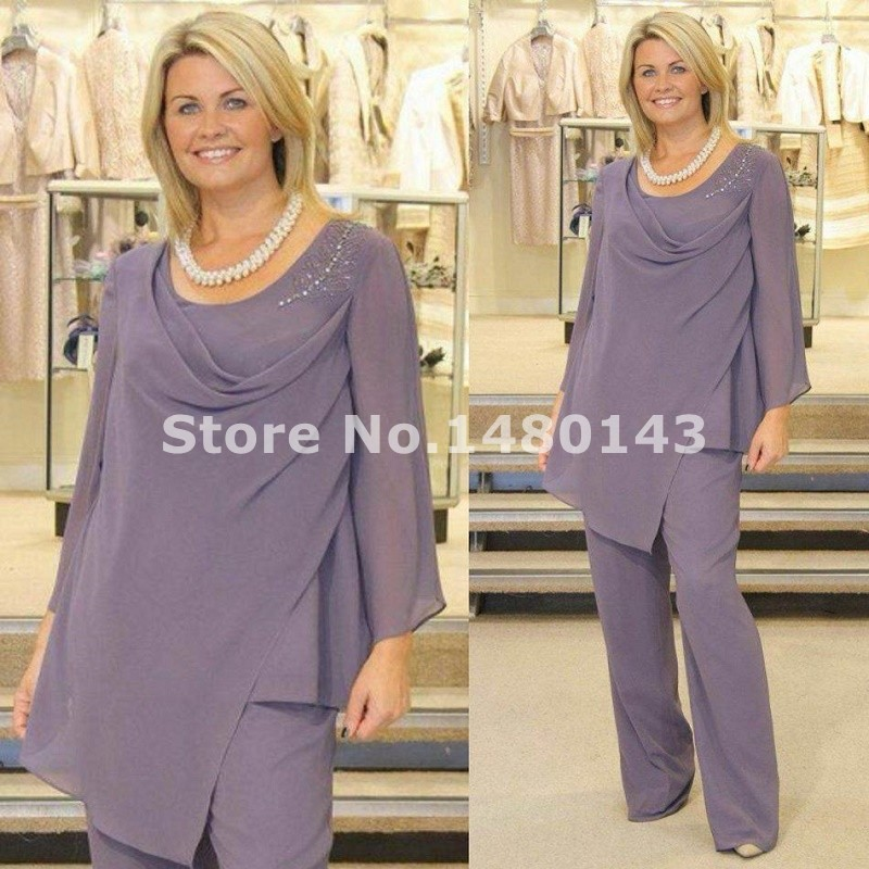 2016 Elegant Gray Mother Wear Draped Mother Of The Bride -3211