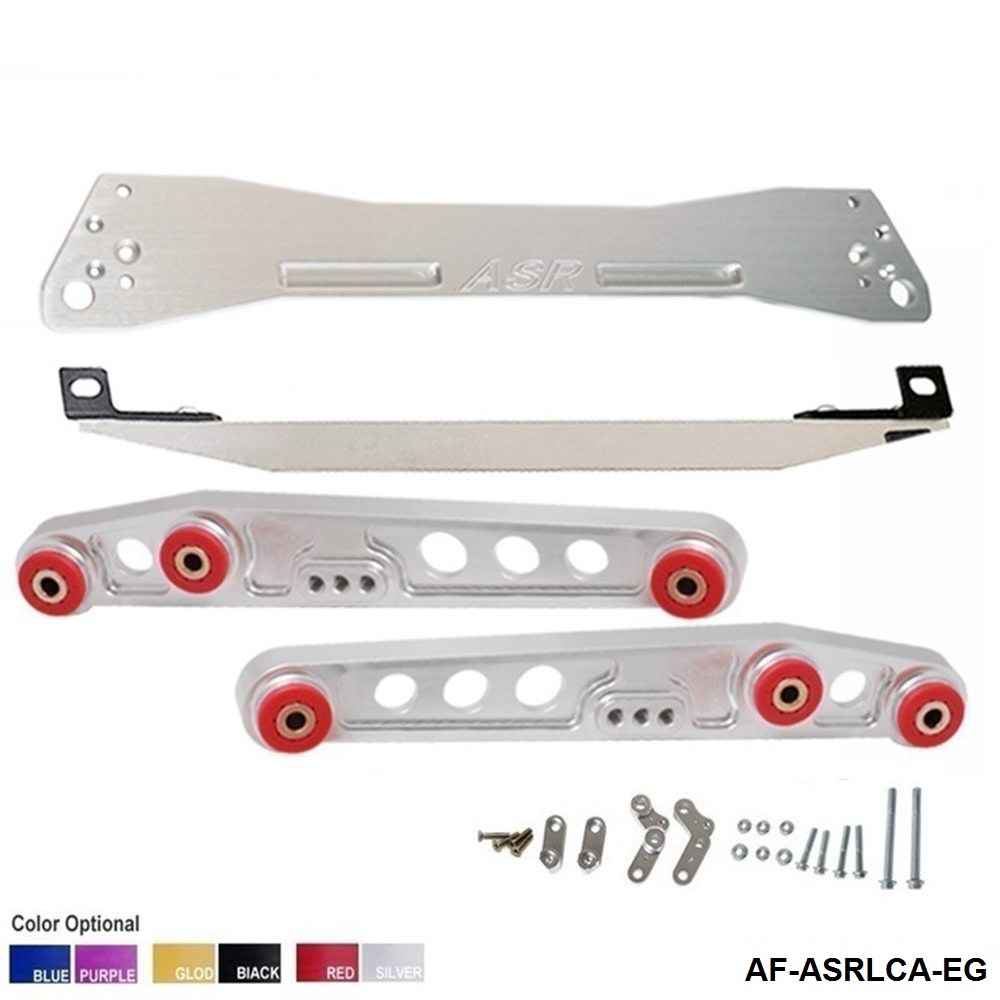 Red Rear Subframe Brace Lower Control Arm Kit For Acura Integra 1994-2001 DC2