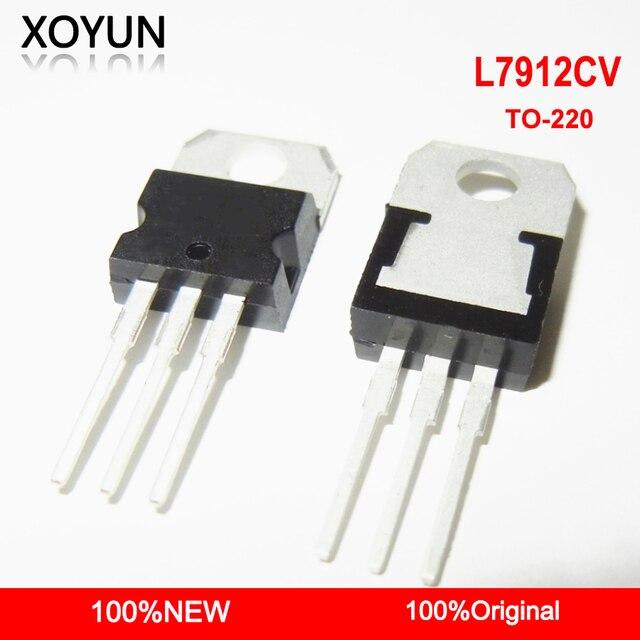 10 개/몫 L7912CV L7912 7912 TO 220 새로운 원본