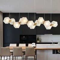 LED Modern Glass Pendant Lights Nordic for Living Room Bedroom Home Decoration Creative Art Indoor Lighting Fixture Hanging Lamp